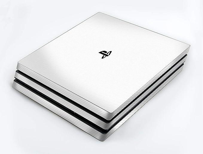 atFoliX Skin compatible con Sony PlayStation 4 Pro PS4 Pro, Sticker Pegatina (FX-Carbon-Alpine), Estructura de carbono / Carbon Foil: Amazon.es: Videojuegos