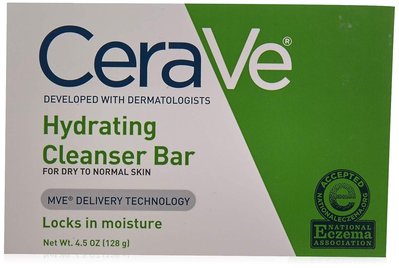 CeraVe CeraVe ハイドレイティングクレンジングバー4.5オズ(4パック) 4パック 4パック 4パック B00YDF0SJQ B00YDF0SJQ, Echo:360407d6 --- ijpba.info