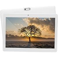 Tablet de 10'' con Procesador de Ocho núcleos 2GB de RAM+ 32GB de Memoria Bluetooth Dual SIM 3G Navegación también es un móvil (Blanco)