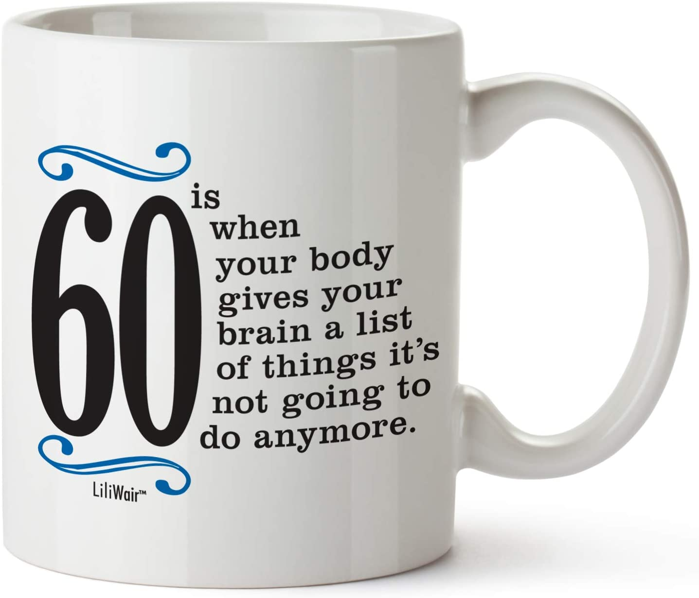 Amazon Com 1961 60th Birthday Gifts Men Women Birthday Gift For Man Woman Turning 60 Funny 60 Th Party Supplies Decorations Ideas Sixty Year Old Bday Coffee Mug 60