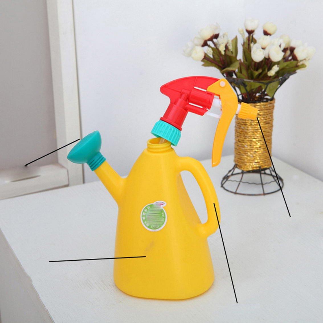 jii2030shann PT007 riego 900 ml con ducha ajustable multi-watering plástico botellas de agua ducha de riego de jardinería de macetas maceta regadera ducha ...