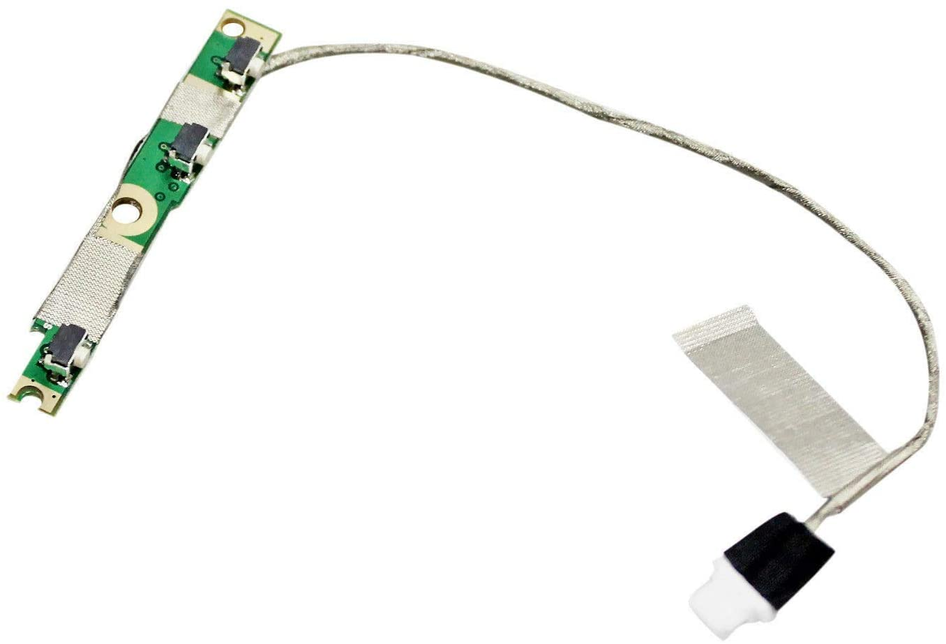 Replacement Power Button Board with Cable for Dell Inspiron 5568 7568 7569 7778 7779, 13 5368 5378 5379 5578 7375 7368 7378 Series Laptop P/N: 450.07R0A.0002