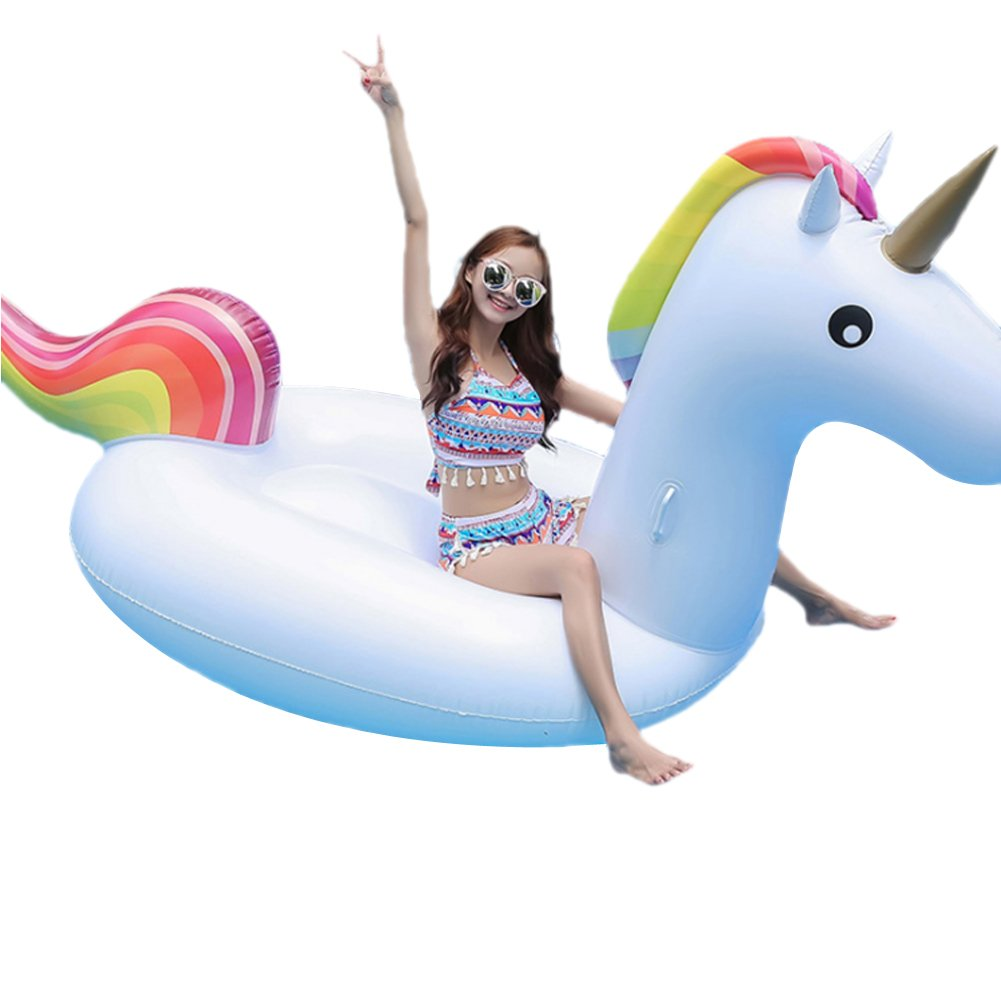 Boby Colchoneta Hinchable Flotador Unicornios Pool Float Gigante Piscina Inflable para Adultos Unicorn 270 x 110 x 136 Centímetros: Amazon.es: Juguetes y ...