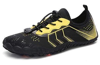 d7f0771faad9 Honeystore Mens Women Barefoot Skin Aqua Socks Sports Water Shoes Unisex  Lightweight Quick Dry Shoes Diving