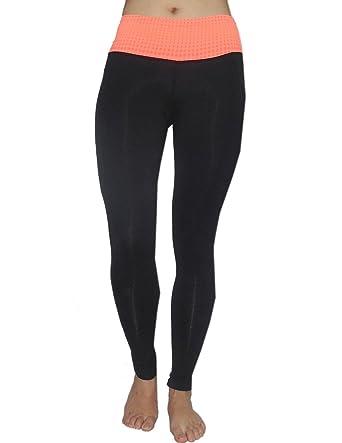9606e86fde7d0 Balance Collection (By Marika) Womens Skinny Leggings Yoga Pants Large Black
