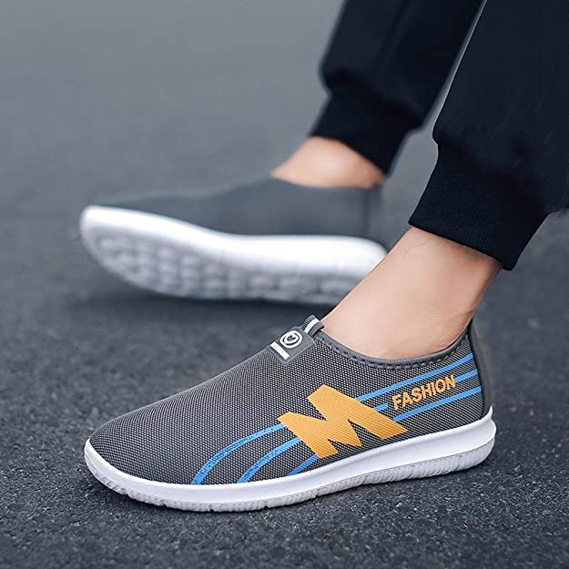 Amazon.com | OrchidAmor Mens Running Shoes Womens Fashion Casual Sneakers Breathable Mesh Slip on Blade Athletic Tennis Sports Shoe for Men | Fashion ...