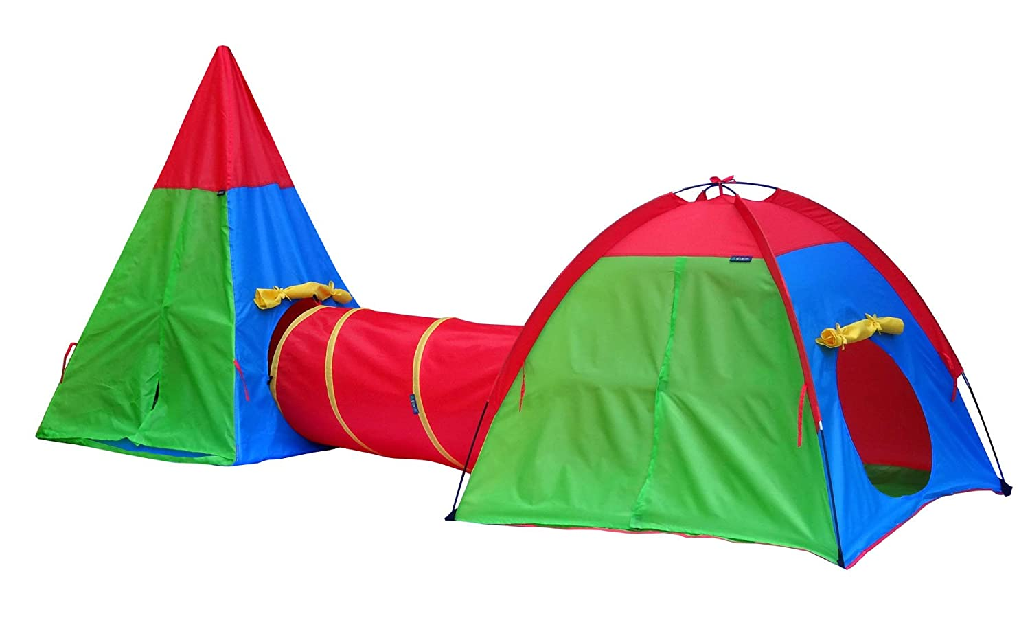 Amazon.com Giga Tent Action Dome and Teepee with Tunnel Play Tent Set Toys u0026 Games  sc 1 st  Amazon.com & Amazon.com: Giga Tent Action Dome and Teepee with Tunnel Play Tent ...