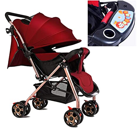 Cochecito de bebé, ultraligero carrito de bebé plegable ...