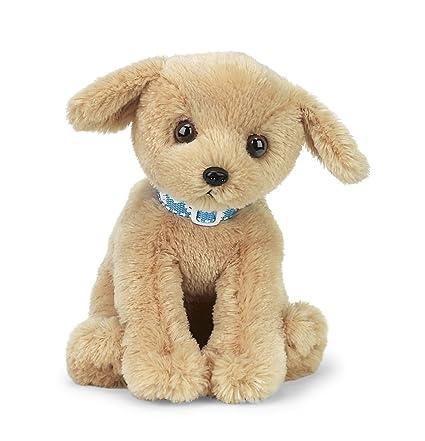 Amazon Com Bearington Trooper Yellow Lab Plush Stuffed Animal Puppy