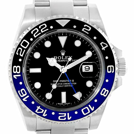 Rolex - Reloj automático-autoenrollable para hombre (certificado de autenticidad)