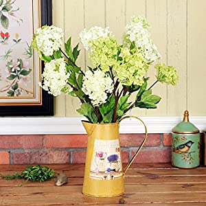 Christmas Home Ornaments Decoration Art Artificial Simulation Flowers Flora For Wedding Party And Valentine Gift Snowball Desktop 3 Fork Flowers 33