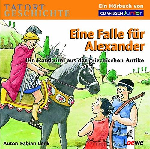 CD WISSEN Junior - TATORT GESCHICHTE - Eine Falle für Alexander. Ein Ratekrimi aus der griechischen Antike, 2 CDs