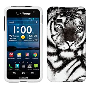 Kyocera Hydro Elite White Tiger Face Phone Case Cover