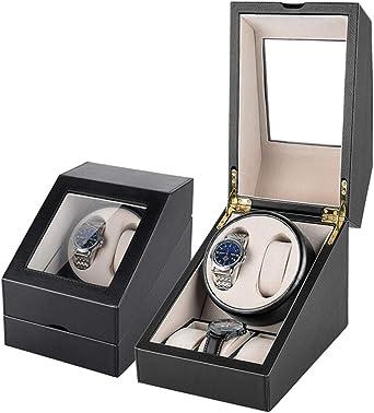 Caja giratoria para Relojes Mira Enrollador For Relojes Automáticos Automática Winder CG624 (Color : 2+3 PU): Amazon.es: Relojes