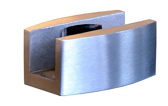 Siebdruck; Schienensystem ALU SlimLine SoftClose; Griffmuschel Schiebet/ürsystem ESG 1025x2050x8mm Dekor M2 BM2-1025-ASE