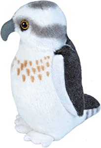 Wild Republic Audubon Birds Osprey Plush with Authentic Bird Sound, Stuffed Animal, Bird Toys for Kids and Birders
