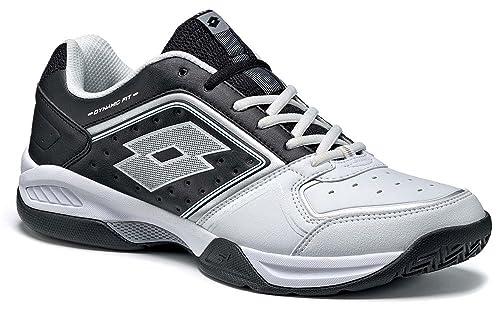 Lotto LottoT-Tour IX 600 - Zapatillas de Tenis Hombre, Color Blanco, Talla 47 EU: Amazon.es: Zapatos y complementos