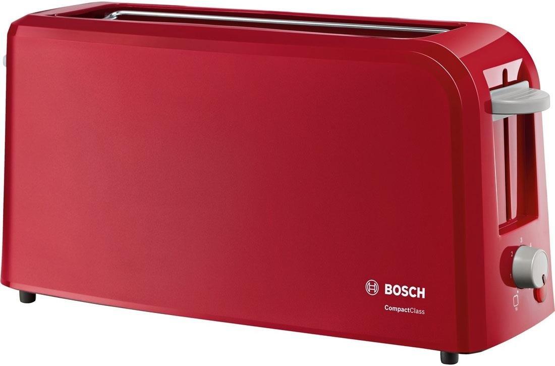 Bosch TATA Tostador eléctrico W para rebanadas de pan color rojo