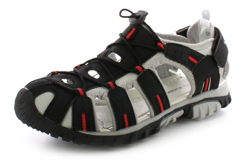 New Boys Kids Canvas Fashion Black Flat Lace Up School Shoes UK Size 13-6