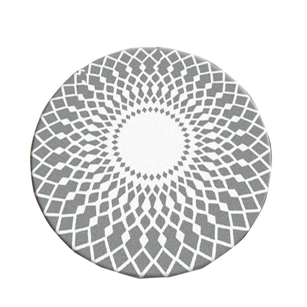 Designer Einfache Moderne Runde Teppich Wohnzimmer Schlafzimmer Studie Garderobe Teppich Computer Stuhl Pad hängenden Korb Pad persische Muster   0,5 cm dick Heimtextilien (größe   Diameter 180CM)