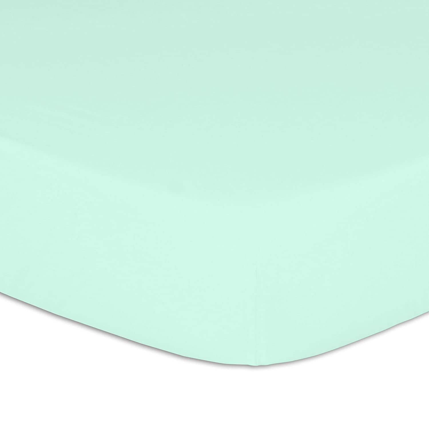 Belle Cotton Crib Sheet Mint Farallon Brands FSBLMI