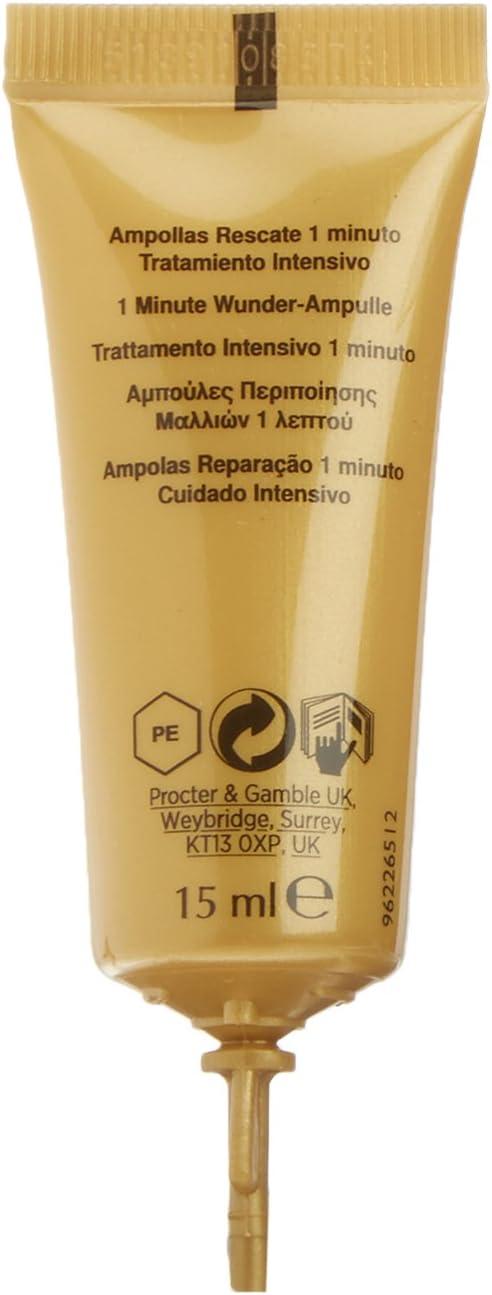 Pantene Repara & Protege Ampolla 15 ml, Repara para Conseguir un Pelo Brillante y Suave: Amazon.es: Belleza