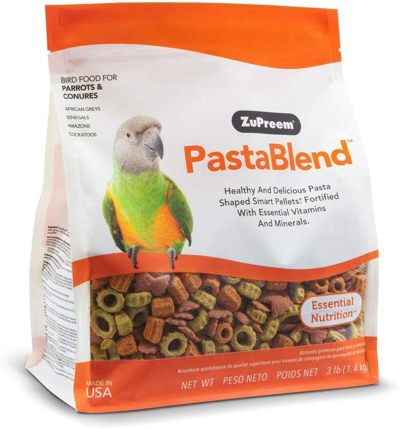 ZuPreem Food PastaBlend Conures 3#, Multi-Color, One Size (87030)