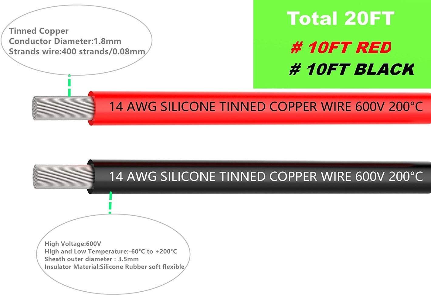 pour circuit imprim/é PCB 600V 7,5A 3 x 4 M/ètres NorthPada 18 AWG 0,75mm/² Kit de Fil /électrique torons Fils de silicone Fil /étam/é C/âble Cuivre 3 Couleur Marron+Bleu+Jaune//Vert