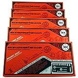 VINTAGE BMC METRINCH 17 PC 3/8`` DRIVE 12pt RATCHET SET NEW 5 PACK /&supplier-raretoolxchange