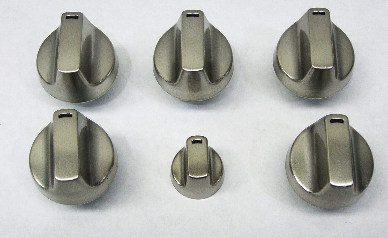 (RB) WB03X32194 Oven Range Knob Kit for GE WB03X25889