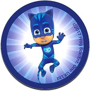 PJ Masks Héroes en pijamas Catboy Disney - Parches termoadhesivos bordados aplique para ropa, tamaño: 6,2 x 6,2 cm