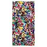 Trevco Power Rangers Crowd Of Rangers Towel (30x60)