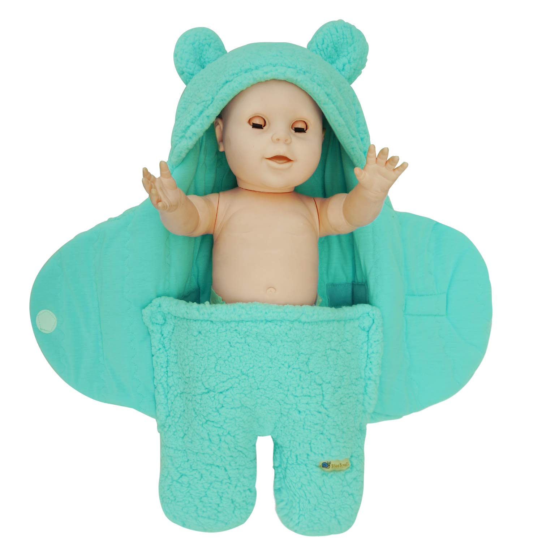 BlueSnail Newborn Receiving Blanket Baby Swaddle Receiving Blankets