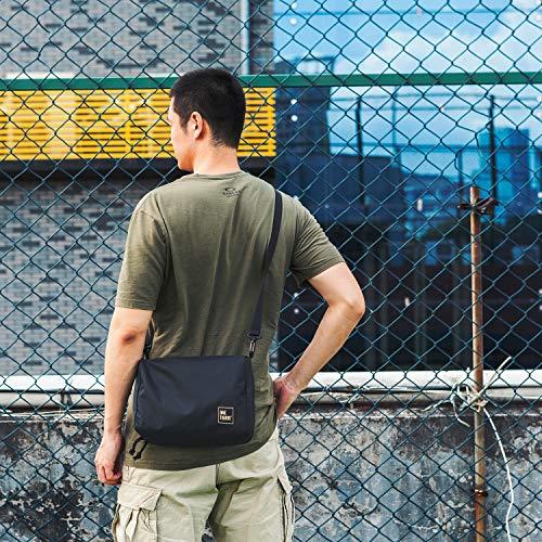 OneTigris Shoulder Straps Replacement Adjustable Strap for Briefcase Laptop Duffle Messenger Gym Bag with Swivel Clips 32''-81.3'' Length (Black) by OneTigris (Image #5)