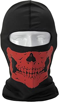 Amazon Com Melody The Dark Extreme Skull Ghost Full Face Mask