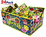 JaRu Splat Ball (Pack of 24 Balls) Squish Splash Toys | Item #5303-24