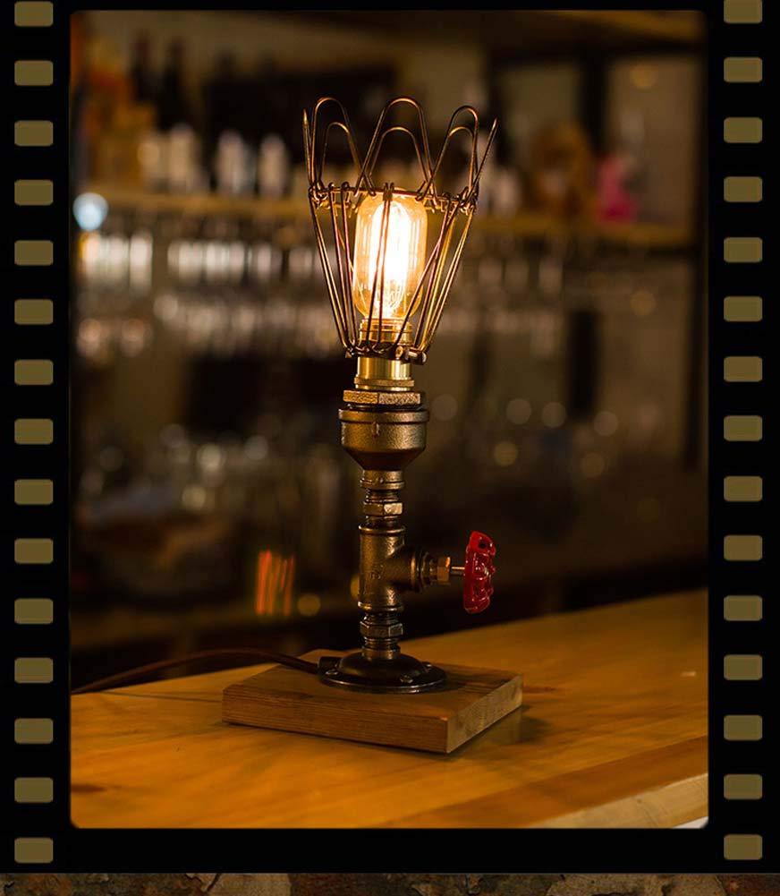 Kreative Tischlampe Industrielle Wind Schreibtischlampe Dekorative Wasser Tischlampe Dimmable Leselampe (Größe   3)