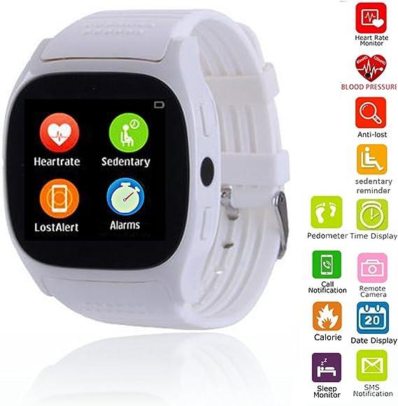 Amazon.com: Muñeca inteligente Reloj Bluetooth visualización ...