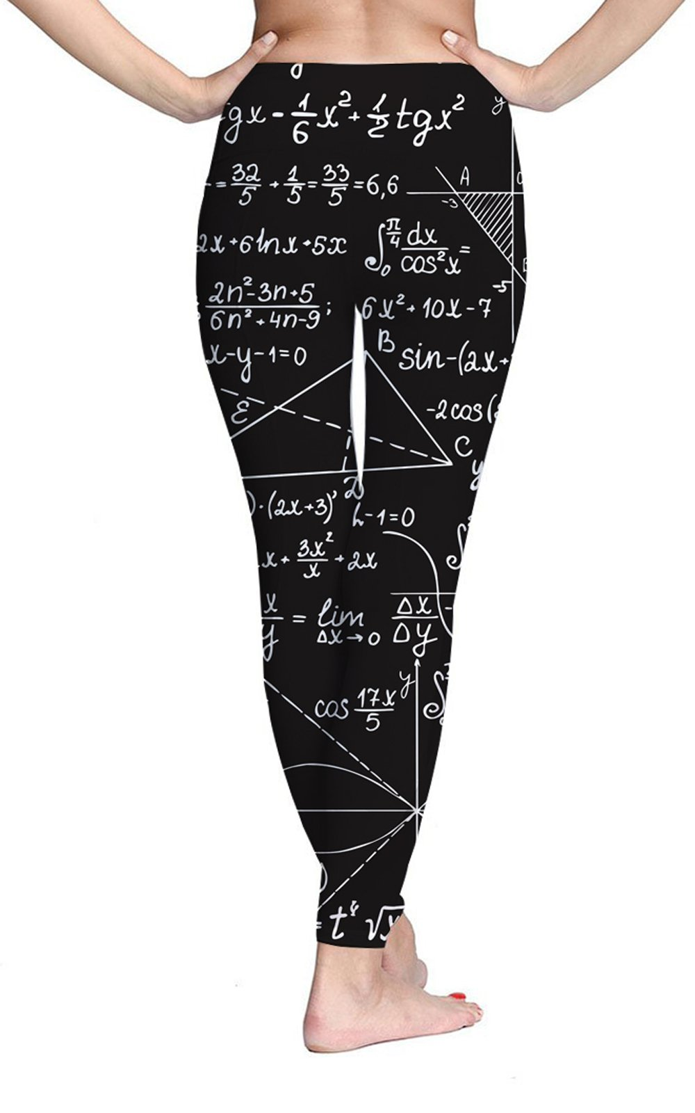 TUONROAD High Waist Printed Leggings Tummy Control Fitness Active Workout Running Jogging Gym Yoga Pants Activewear (Formula-1, M)