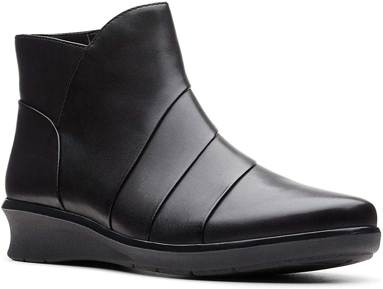 Max 67% OFF Clarks Women's Hope Rest Black Limited time sale Boot Leather Ankle