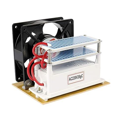 KKmoon 20g/h Ventilador del purificador del filtro de aire de la máquina de la