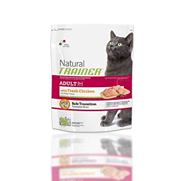 Trainer Natural Gato Adult, alimento para Gatos, con Pollo, 300 g: Amazon.es: Productos para mascotas