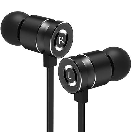 Gritin Auriculares Auriculares con Cable y Micrófono In Ear ...