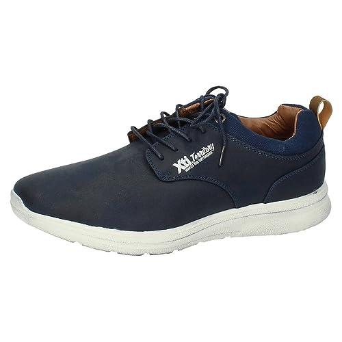 47174, Baskets Enfiler Homme, Bleu (Navy), 40 EUXti