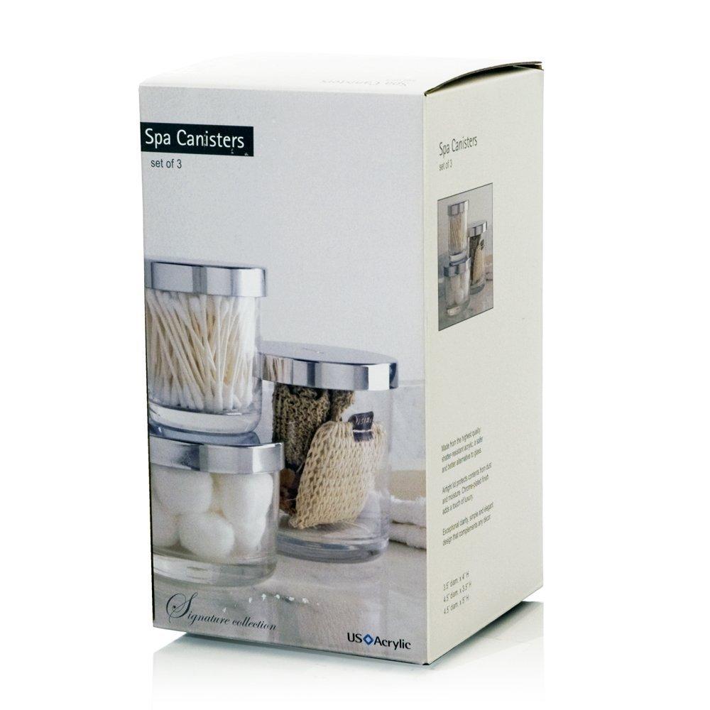 Amazon.com: U.S. Acrylic Premium Quality Plastic Bathroom Vanity ...