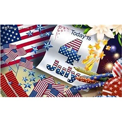 Christmas In July Party Supplies.Amazon Com American Flag Fourth Of July Party