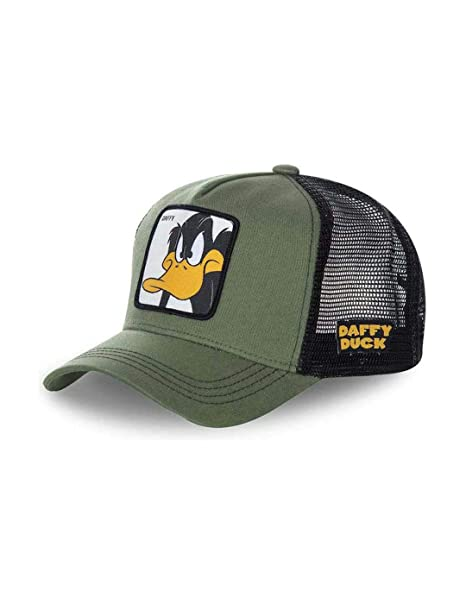 Capslab Gorra Hombre Daffy Kaki Unica Verde: Amazon.es: Ropa y ...