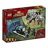 Confrontation at Lego (LEGO) Super Heroes Mine 76099