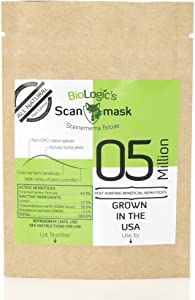 BioLogic Scanmask Steinernema Feltiae (Sf) Beneficial Nematodes for Natural Insect Pest Control, 5 Million Size