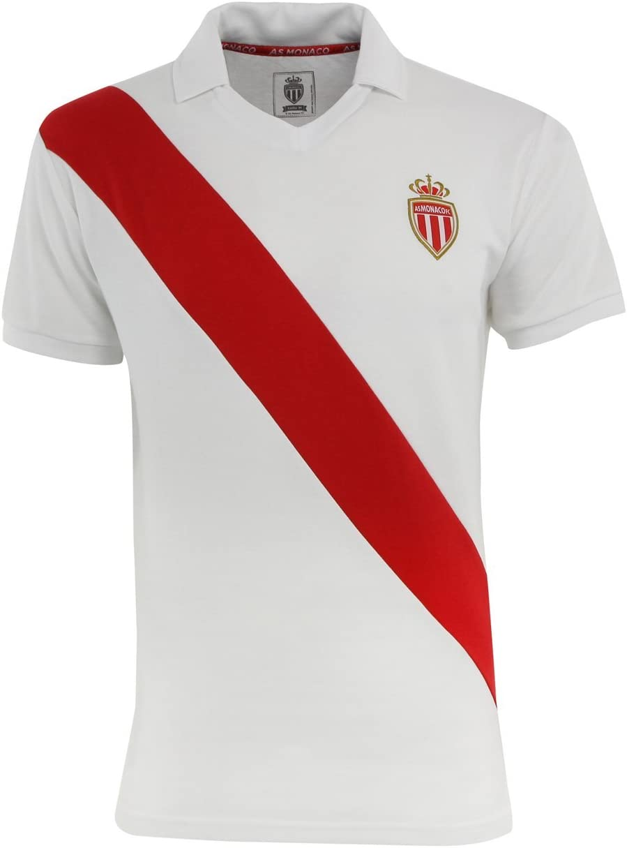 T-shirt, diseño de la colección oficial AS MONACO ASM FC-fútbol ...